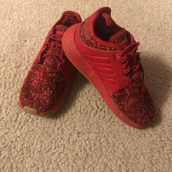 Kids red adidas X_PLR original